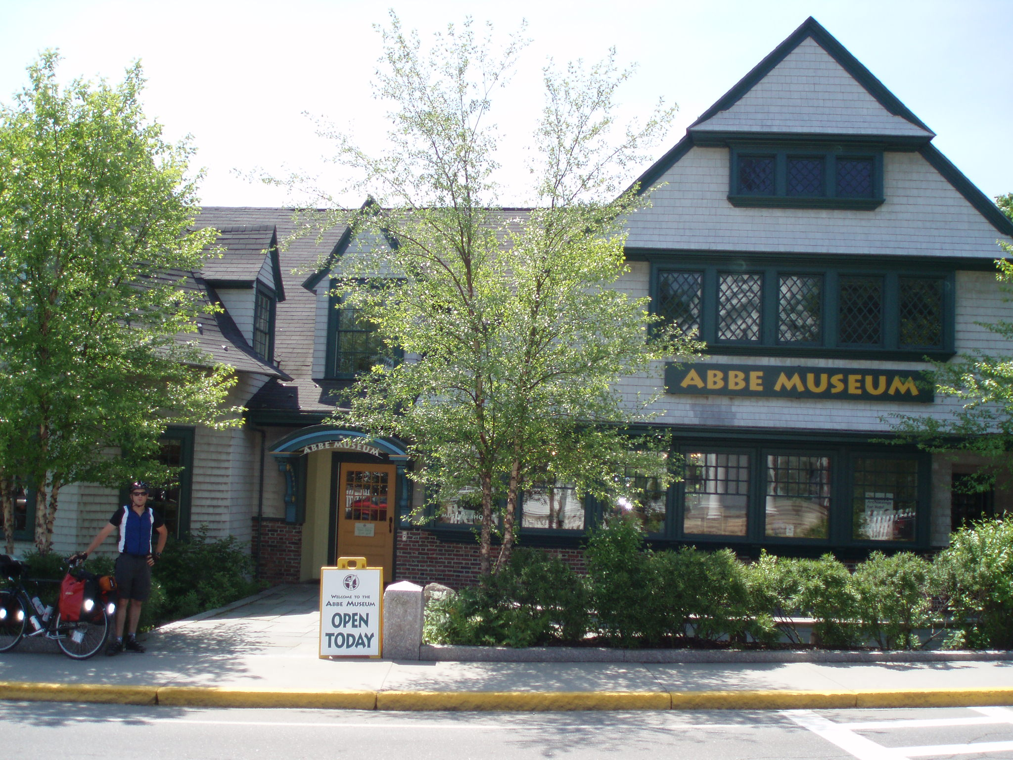 at the Abbe Museum