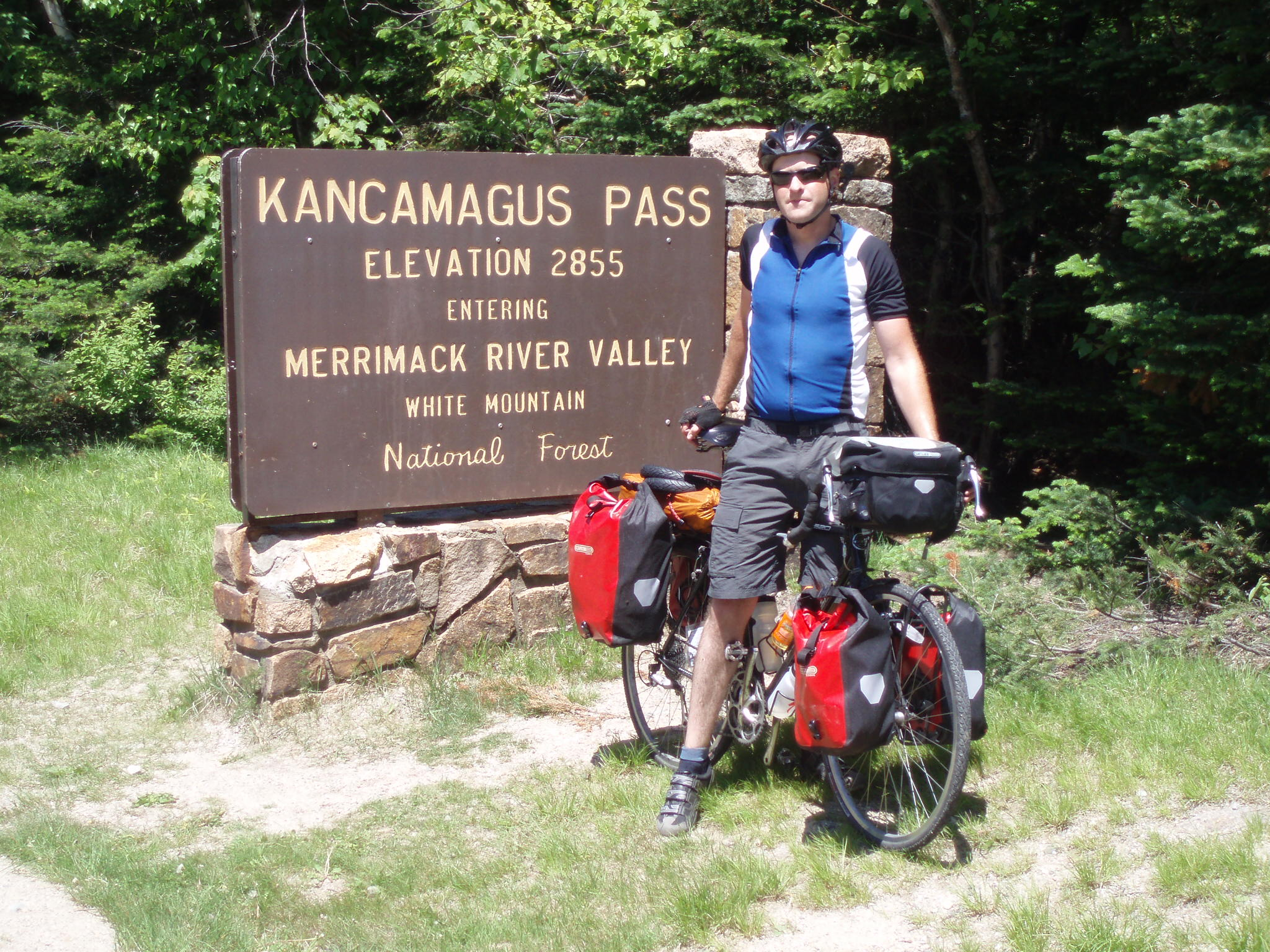 Kancamus Pass, 2007 Coast2Coast Bike Ride