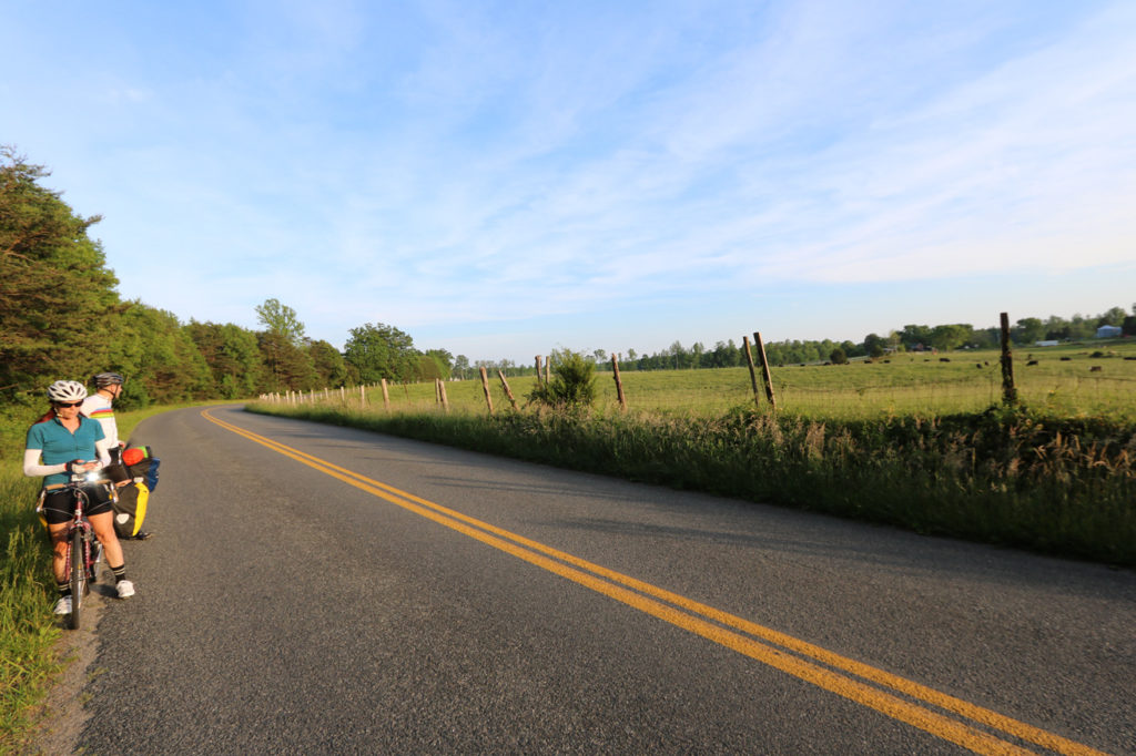 Road Pictures, day 2 2016 Coast to Coast Bike ride